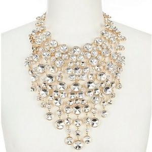 New Natasha Crystal Statement Necklace